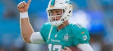 Dolphins QB Tannehill limited in practice with back, ankle injuries