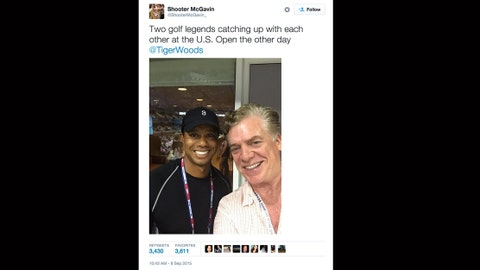 Shooter McGavin + Tiger Woods
