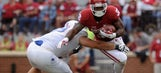 Sooners' Perine, Mixon pay for fumbles with full-field pushups