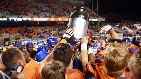 Milk Can - Boise State vs. Fresno State