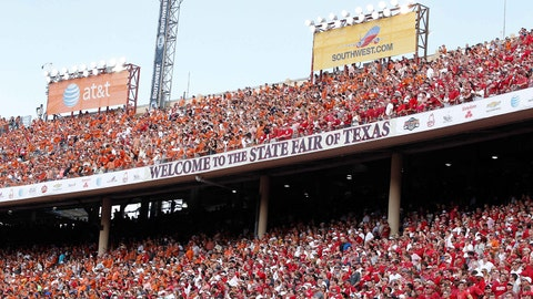 Texas owns the longest winning streak
