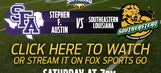 SFA vs. SE Louisiana webcast Saturday @ 7 p.m.