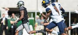 Coleman 3 TD catches for Baylor in rout of West Virginia