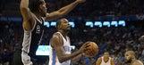 Donovan wins NBA coaching debut, Thunder beat Spurs in opener
