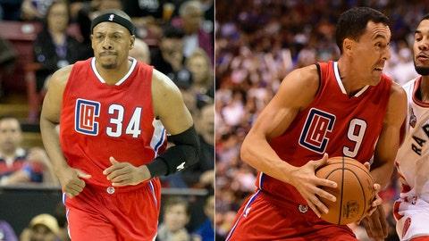 Los Angeles Clippers - Paul Pierce / Pablo Prigioni, Age: 38