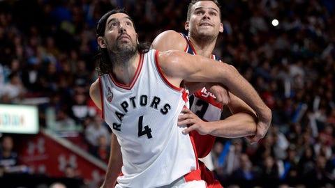Toronto Raptors - Luis Scola, Age: 35