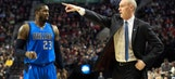 Rick Carlisle roasts Wes Matthews: 'He couldn't hit a bull in the [expletive]'