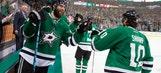 Sharp's late power-play goal helps Stars beat Hurricanes