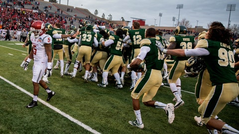 2013 New Mexico Bowl: Colorado State 48, Washington State 45