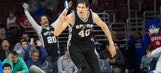 Spurs' Marjanovic on fan support: 'I don't drink Red Bull, but they give me wings'