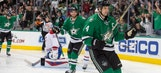 Benn has 2 goals, assist and Stars beat Canadiens