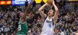 Mavericks bounce back at home with OT win over Celtics