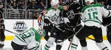 Road struggles continue for Stars with loss to Kings