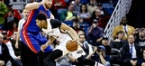 Anthony Davis leads Pelicans past Pistons