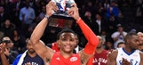 Russell Westbrook earns MVP in West All-Star Game win