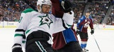 Stars' Spezza out after going head-first into boards