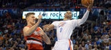 Westbrook's triple-double leads Thunder past Trail Blazers