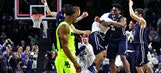 Yale with shocking upset of Baylor for first-ever tournament win