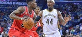 Pelicans lose to Bulls in final home game of season