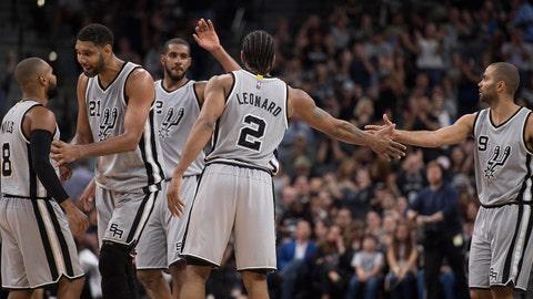 San Antonio Spurs: 2015-16 - Regular season: 67-15