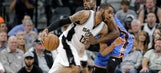 Spurs put frenzied finish in the past, focused on winning in OKC