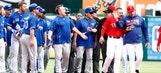 Simmering Toronto-Texas feud erupts in Rangers' win