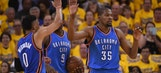 Thunder come from 14 down to take Game 1 from Warriors