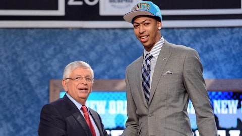 Anthony Davis | College: Kentucky | 2012 NBA Draft | 1st overall pick by Pelicans