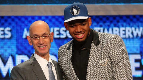 Karl-Anthony Towns | College: Kentucky | 2015 NBA Draft | 1st overall pick by Timberwolves