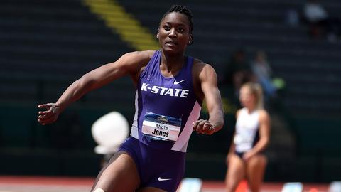 Akela Jones | Kansas State | Barbados | Track & Field/Heptathlon, 100M Hurdles