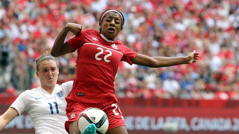 Ashley Lawrence | West Virginia | Canada | Soccer