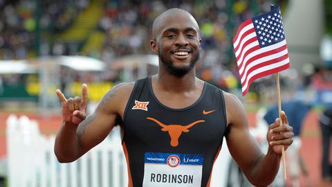 Byron Robinson| Texas | USA | Track & Field/400M Hurdles