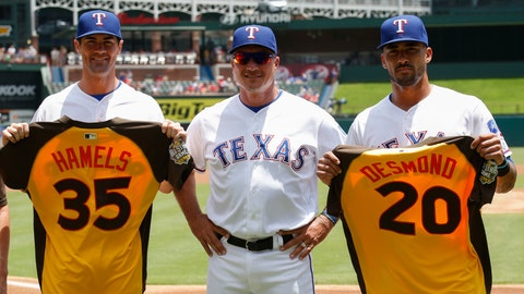 CORRECTION Twins Rangers Baseball