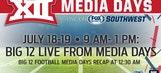 Big 12 Media Days on FOX College Sports, FOX Sports regional networks