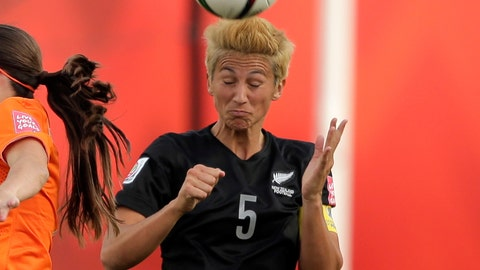 Abby Erceg, New Zealand Soccer: @aerceg5
