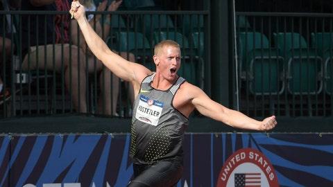 Cyrus Hostetler, USA Track and Field: @chostetler15