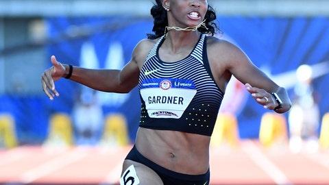 English Gardner, USA Track and Field: @UgHLyDuCkLiN