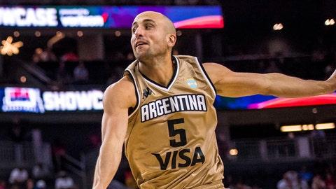 Manu Ginobili, Argentina Basketball: @manuginobili