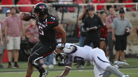 Fall Guys: Patrick Mahomes, Texas Tech QB Jr.