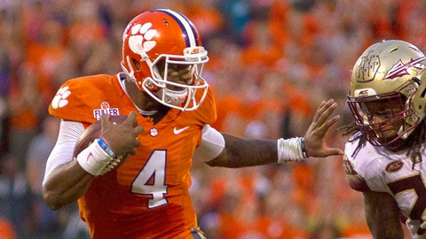 CLEMSON at FLORIDA STATE, Oct. 29