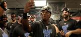PHOTOS: Rangers celebrate back-to-back AL West titles