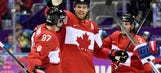Predators Olympics Report: Weber, Canada pull away