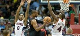 Three Hits: Hawks halt Heat, clinch No. 8 seed in East playoffs