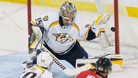 Pekka Rinne -- Round 8, 2004; 258th overall by Nashville Predators