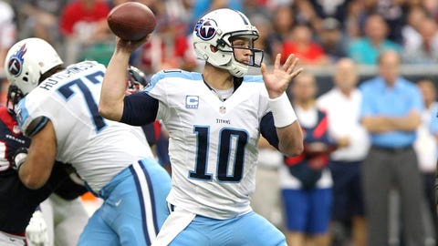 Jake Locker (eighth pick, 2011, Tennessee Titans)