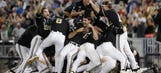 Pitcher proposes to girlfriend after Vanderbilt wins College World Series