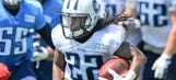 Titans' rebuilt backfield, post-Johnson, a study in versatility