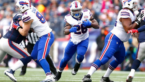 12 -- RB C.J. Spiller, Bills