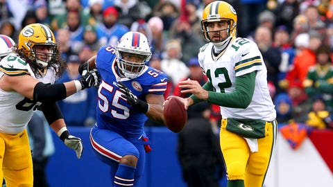 6 -- LB/DE Jerry Hughes, Bills
