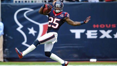 7 -- CB Kareem Jackson, Texans